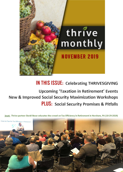 Thrive Monthly November 2019