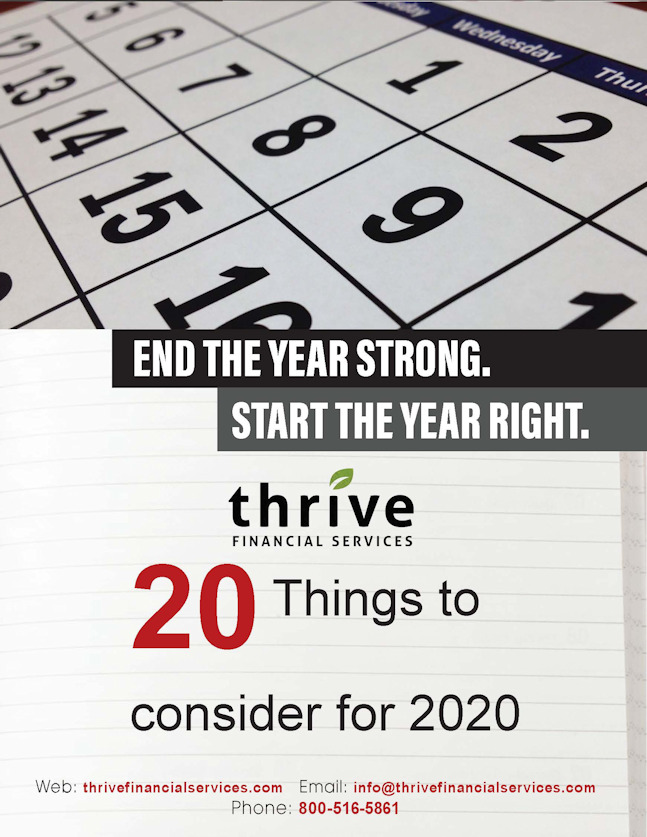 20 Things to Consider for 2020