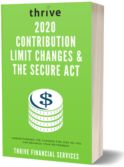 2020 Contribution Limit Changes and the SECURE Act